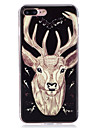 For Glow in the Dark  IMD Case Back Cover Case deer  Soft TPU for Apple iPhone 7 Plus  7  6s Plus 6 Plus   6s  6  SE 5 S5 5C