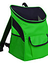 Cat Dog Carrier & Travel Backpack Pet Carrier Portable Breathable Solid Navy Light Blue Light Green Rainbow Royal Blue
