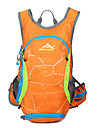 15 L mochila Caca Alpinismo Esportes Relaxantes Ciclismo/Moto Escola Acampar e Caminhar ViajarProva-de-Agua Ziper a Prova-de-Agua