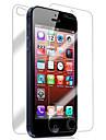 [2 pacotes] Frente e Verso Retina protetor de tela para iPhone 5/5S