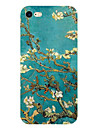 Para Ultra-Fina Estampada Capinha Capa Traseira Capinha Flor Macia TPU para Apple iPhone 7 Plus iPhone 7 iPhone 6s Plus/6 Plus iPhone 6s/6