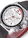 MEGIR Men\'s Sport Watch Dress Watch Fashion Watch Wrist watch Automatic self-winding Genuine Leather Band Charm Casual Luxury