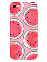 Para Ultra-Fina Estampada Capinha Capa Traseira Capinha Fruta Macia TPU para AppleiPhone 7 Plus iPhone 7 iPhone 6s Plus/6 Plus iPhone