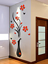 Botanical Wall Stickers 3D Wall Stickers Decorative Wall Stickers,Vinyl Material Home Decoration Wall Decal