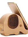 Phone Holder Stand Mount Desk Bed Other Wooden Bluetooth Speaker for Mobile Phone