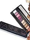 1Pc Shimmer Matte Natural Fashion Eye Shadow Make Up Light Eyeshadow Cosmetics Set With Brush 10 Colors Novo Eye Makeup Palette
