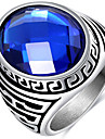 Men\'s Ring Acrylic Acrylic Titanium Steel Jewelry For Wedding Party Daily Casual