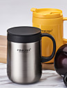 Minimalism Drinkware, 480 ml Heat Retaining Stainless Steel Milk Water Coffee Mug