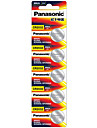 Panasonic CR2032 Muenze& Knopfzelle Lithium-Batterie 3V 5er Pack