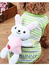 Hunde Maentel Gruen Rosa Hundekleidung Sommer Karton Niedlich