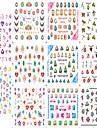 1pcs 11design 아트 스티커 네일 3D 네일 스티커 메이크업 화장품 아트 디자인 네일