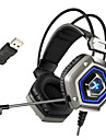 XIBERIA X13 Pro USB 7.1 Sourround Stero Gaming Headphone Cancelling Nosie Computer PC Gamer Heavy Bass Headset With Mic LED