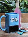 новинка мультфильма Drinkware, 300 мл большой рот керамический сок вода кружка кофе