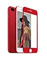 ZXD bord doux rouge Chine pour iphone 7 plus protecteur d\'ecran 3D pleine couverture en verre trempe transparent couvrant antireflet
