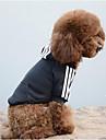 Собаки Толстовки Толстовка Одежда для собак Зима Весна/осень Однотонный На каждый день Спорт Черный Желтый Красный Синий Розовый