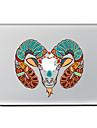 1개 스크래치 방지 애플로고 관련 투명 플라스틱 바디 스티커 패턴 용MacBook Pro 15\'\' with Retina MacBook Pro 15\'\' MacBook Pro 13\'\' with Retina MacBook Pro 13\'\' MacBook