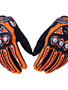 PRO-BIKER MCS-23 Safety Full Finger Gloves Wear-Resistant Wind-Proof Safety Protective Bike Bicycle Motorcycle Racing Protection - One Pair
