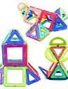 צעצועים מגנטיים 34 חתיכות צעצועים מגנטיים צעצועי הנהלה קוביית פאזל צעצועי DIY כדורים מגנטיים קשת צעצועי חינוך לקבלת מתנה
