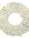 1set 30sheets 아트 스티커 네일 물 전송 데칼 메이크업 화장품 아트 디자인 네일