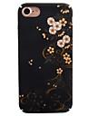 Pour Motif Coque Coque Arriere Coque Fleur Dur Polycarbonate pour AppleiPhone 7 Plus iPhone 7 iPhone 6s Plus iPhone 6 Plus iPhone 6s