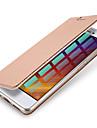 Para Porta-Cartao Flip Magnetica Capinha Corpo Inteiro Capinha Cor Unica Rigida Couro PU para XiaomiXiaomi Redmi 4 Xiaomi Redmi Note 4
