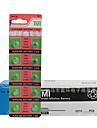 Monnaie tmi ag4& Bouton cellule cardon zinc batterie 1.55v 20 pack