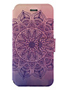 For Samsung Galaxy A5 A3 (2017)  Case Cover Mandala Pattern Painted PU Material Card Holder Mobile Phone Holster Phone Case A5 A3 (2016)