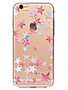 For Five-Pointed Star Pattern Soft TPU Material Phone Case for iPhone 7 Plus 7 6S Plus 6S 6 SE 5
