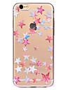 Pour Transparente Motif Coque Coque Arriere Coque Forme Geometrique Flexible PUT pour AppleiPhone 7 Plus iPhone 7 iPhone 6s Plus iPhone 6