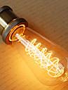ST64 e27 60w Edison luz arte deco (220v)