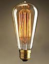 ST64 e27 40w Edison lumiere art deco (220v)