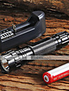 LED Flashlights/Torch Handheld Flashlights/Torch LED 1300 Lumens 5 Mode Cree XM-L T6 Adjustable Focus Nonslip grip for