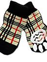 Cat Dog Socks Cute Sports Fashion Casual/Daily Birthday Holiday Wedding Reversible Keep Warm Plaid/Check Cotton