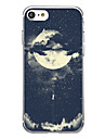 Para Ultra-Fina Estampada Capinha Capa Traseira Capinha Azulejos Macia TPU para AppleiPhone 7 Plus iPhone 7 iPhone 6s Plus iPhone 6 Plus