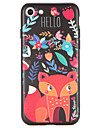 For Pattern Case Back Cover Case Cartoon Hard PC for Apple iPhone 7 Plus iPhone 7 iPhone 6s Plus iPhone 6 Plus iPhone 6s iPhone 6