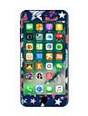 1 ед. Защита от царапин Геометрический принт Прозрачный пластик Стикер для корпуса Сияющий в темноте Узор ДляiPhone 7 Plus iPhone 7