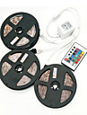 ZDM 15M(3*5M) 100W  450X5050 RGB LEDs Strip Flexible Light LED Tape String Lights DC 12V  with 1BIN3 connector and 24Key IR Remote Controller Kit