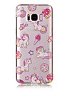 Pour samsung galaxy s8 plus s8 tpu materiel imd process unicorn pattern telephone cas s7 bord s7 s6 bord s6 s5