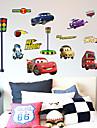 카툰 패션 대중교통 벽 스티커 플레인 월스티커 데코레이티브 월 스티커,종이 자료 홈 장식 벽 데칼