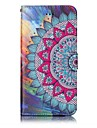 For iPhone 7 Plus 7 Mandala Pattern Varnishing Process Embossed PU Leather Material Phone Case 6S Plus 6S 6 5S SE 5