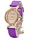 Женские Модные часы Наручные часы Уникальный творческий часы Повседневные часы Кварцевый PU Группа С подвесками Cool Повседневная Люкс