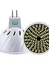 5W GU10 GU5.3(MR16) Точечное LED освещение MR16 128 SMD 3014 400-500 lm Тёплый белый Холодный белый Естественный белыйРегулируемая
