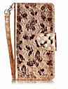 Назначение Чехлы панели Бумажник для карт Кошелек со стендом Флип С узором Магнитный Чехол Кейс для Бабочка Твердый Искусственная кожа для