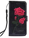 Pour Etuis coque Portefeuille Porte Carte Avec Support Clapet Motif Magnetique Coque Integrale Coque Fleur Dur Cuir PU pour SamsungS8 S8