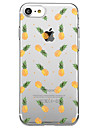 For iPhone 7 Plus 7 Case Cover Transparent Pattern Back Cover Case Fruit Soft TPU for iPhone 6s Plus 6s 6 Plus 6 5s 5 SE