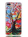 아이폰 7plus 7 tpu 소재 큰 나무 패턴 릴리프 전화 케이스 6s 플러스 6plus 6s 6 se 5s 5