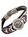 Муж. Кожаные браслеты Бижутерия Природа бижутерия Мода Кожа Сплав Бижутерия Назначение Особые случаи Спорт