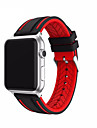 Watch Band for Apple Watch Serie 1 2 38mm 42mm Classic Buckle Silicone Replacement Strap