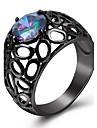 Mulheres Maxi anel Anel Imitacao de Diamante Basico Classico bijuterias Moda Personalizado Euramerican Joias de Luxo Estilo simples