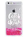 Case for apple iphone7 7 plus блеск блеск слово фраза текучая жидкость образец мягкий tpu 6s плюс 6 плюс 6s 6